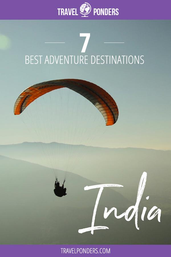 India Adventure Destinations