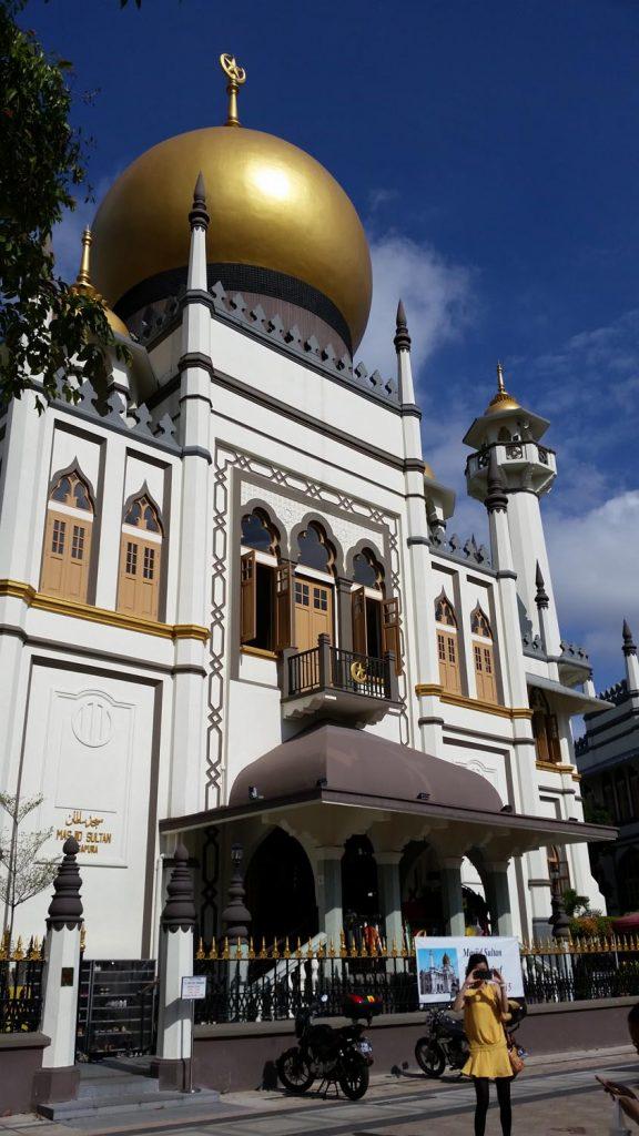 Temple in the Arab Quarter of Singapore