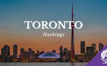 toronto hashtags